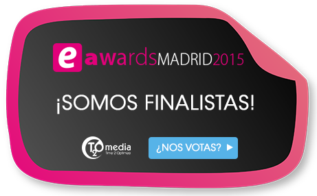 T2O media finalista de los Premios eAwards 2015
