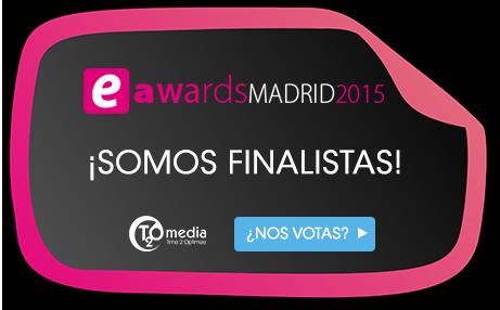T2O media finalista de los eAwards 2015