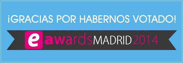 Votaciones eAwards Madrid 2014