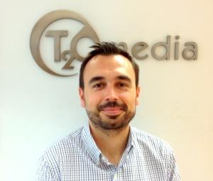 Alfonso del Barrio, International Service Director de T2O media