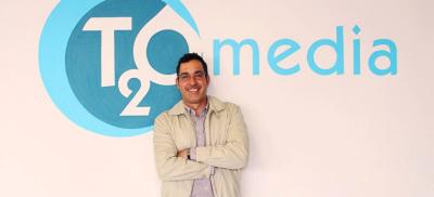 Arnaldo Hernández, Country Manager de T2O media México