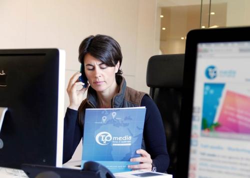 Beatriz Ordoñez, Responsable de Desarrollo de Negocio de T2O media para el mercado catalán