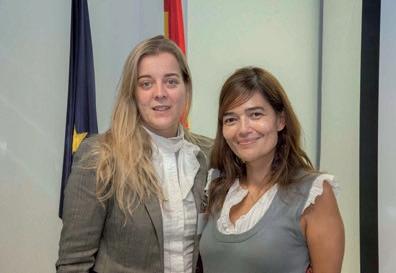 Ruth Barreño y Beatriz Pérez en La Chambre de Madrid