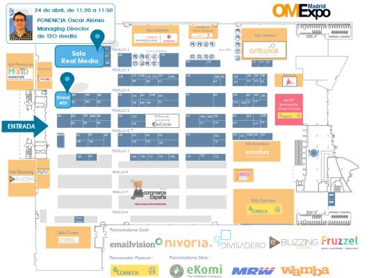 Mapa OMExpo Madrid 2013