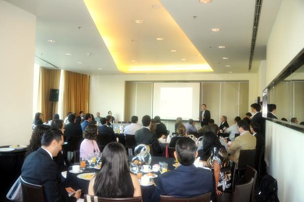 Desayuno-Conferencia en México D.F.