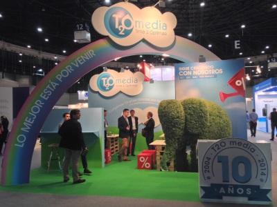 Stand de T2O media en OMExpo 2014