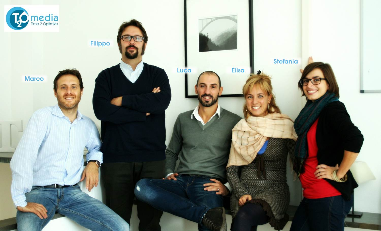 Equipo de T2O media Italia