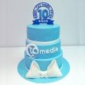Fiesta Azul, 10 aniversario de T2O media